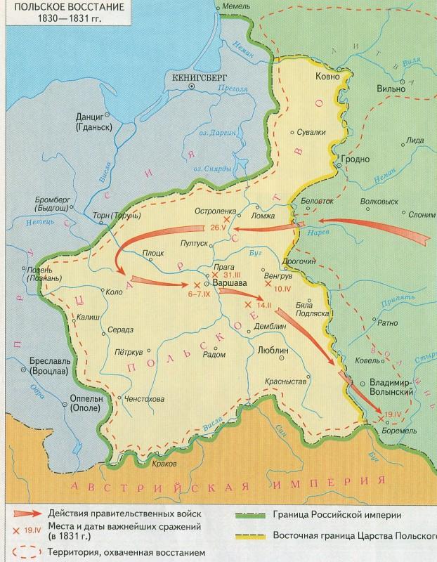 Польское востание 1830-1831 гг.