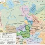 Территориальный рост Московского княжества 1300 - 1340гг.