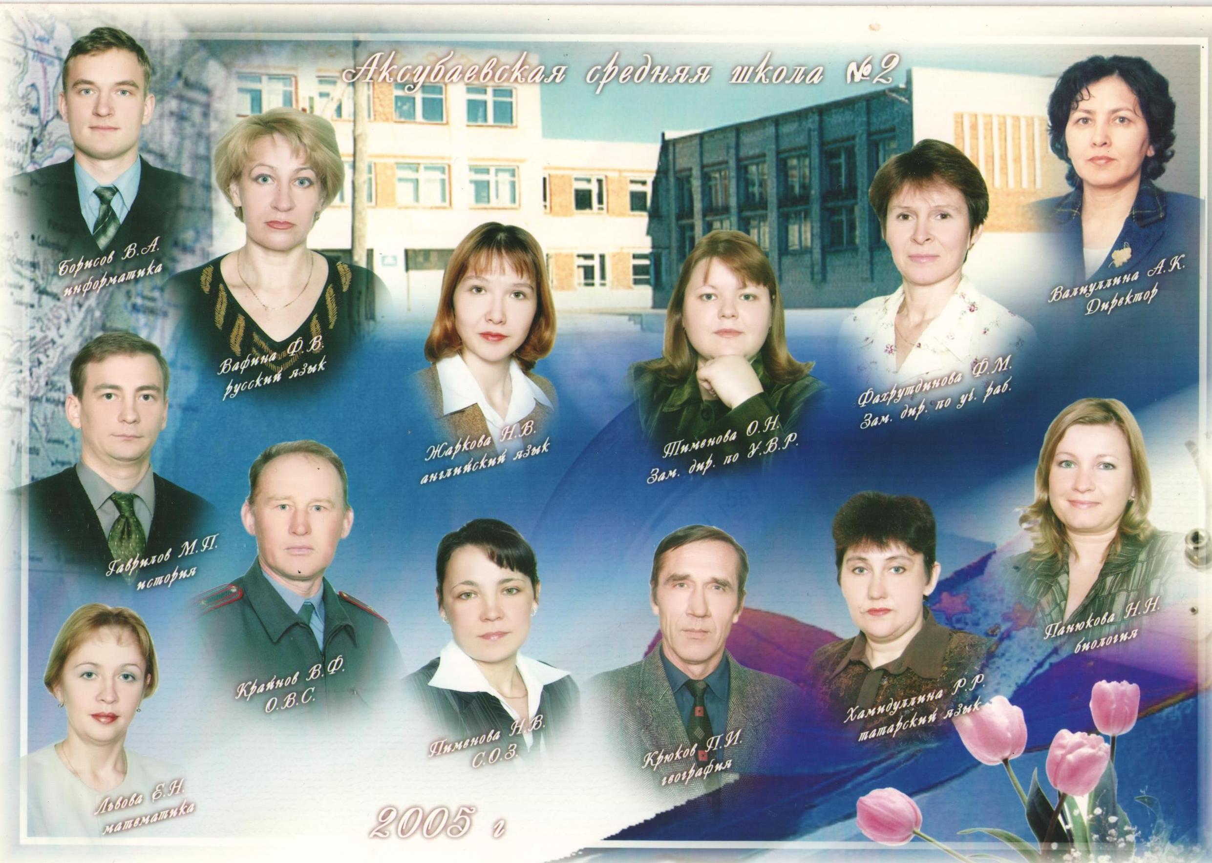 учителя 2005