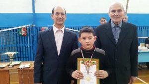 Белов Никита - 1 место среди 1-4 классов