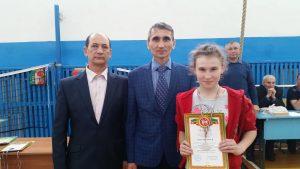 Тухватуллина Алия - 2 место среди 5-8 классов