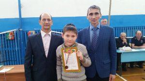 Маклаков Данила - 3 место среди 5-8 классов