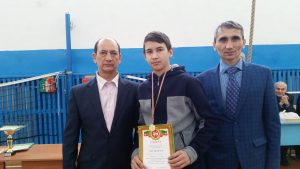 Муратшин Алмаз - 1 место среди 5-8 классов