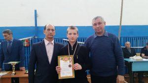 Борисов Максим - 3 место среди 9-11 классов