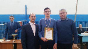 Белов Игорь - 1 место среди 9-11 классов