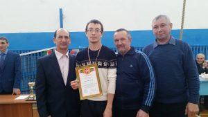 Гафиятов Ильнар - 2 место среди мужчин