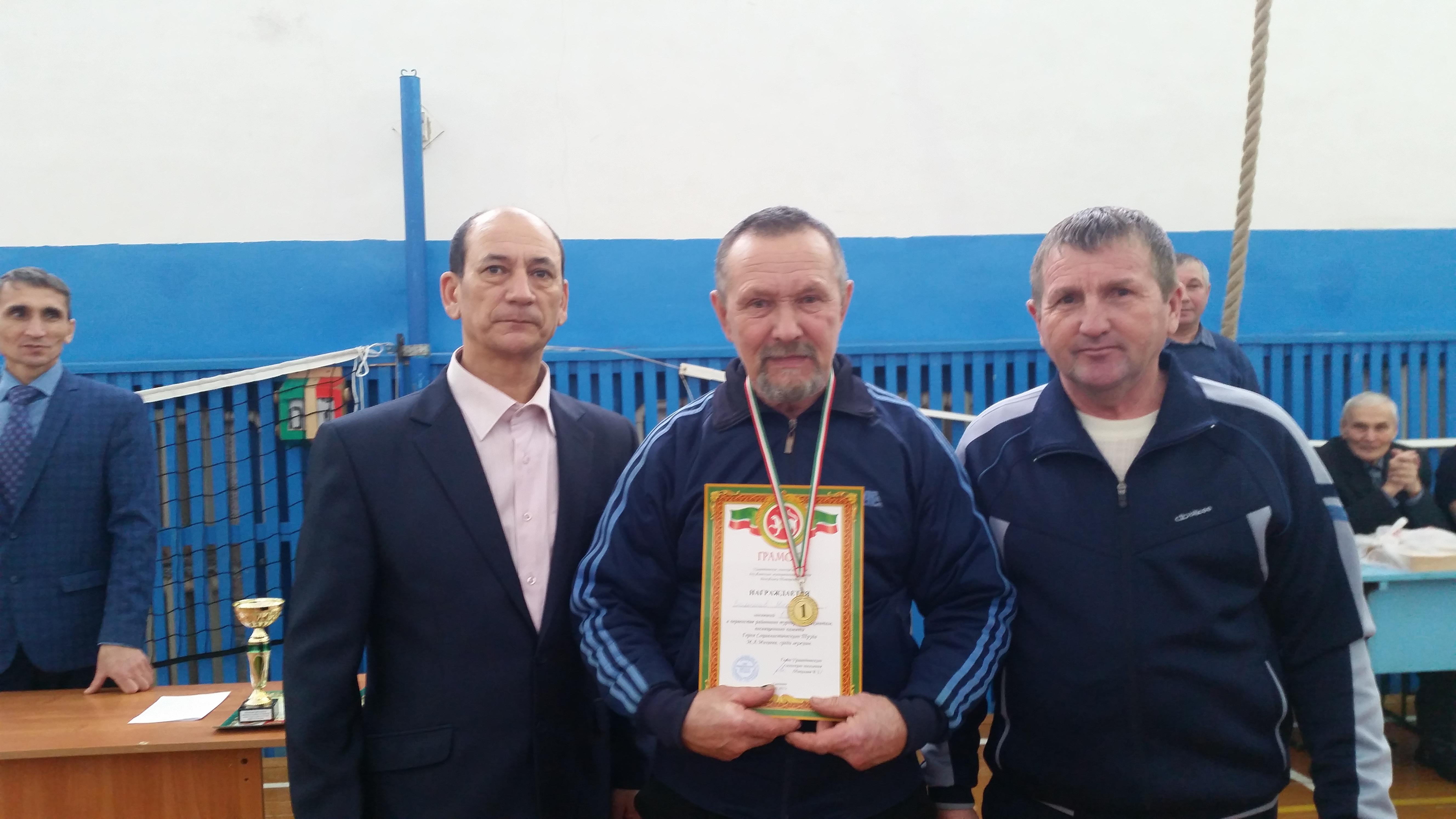 Водышев Михаил -1 место среди мужчин